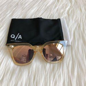 Quay Australia Sunglasses + Case